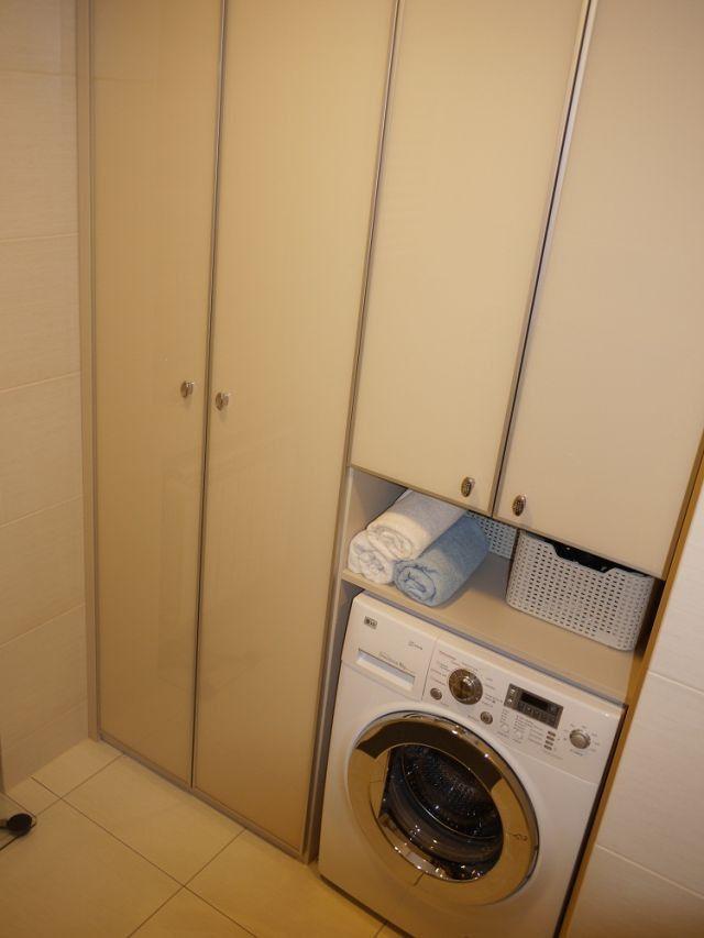 Jak ukryć pralkę w łazience - sprzęt AGD lazienkowy.pl