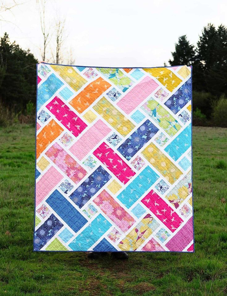 25+ Picturesque Easy Batik Quilts Patterns Free