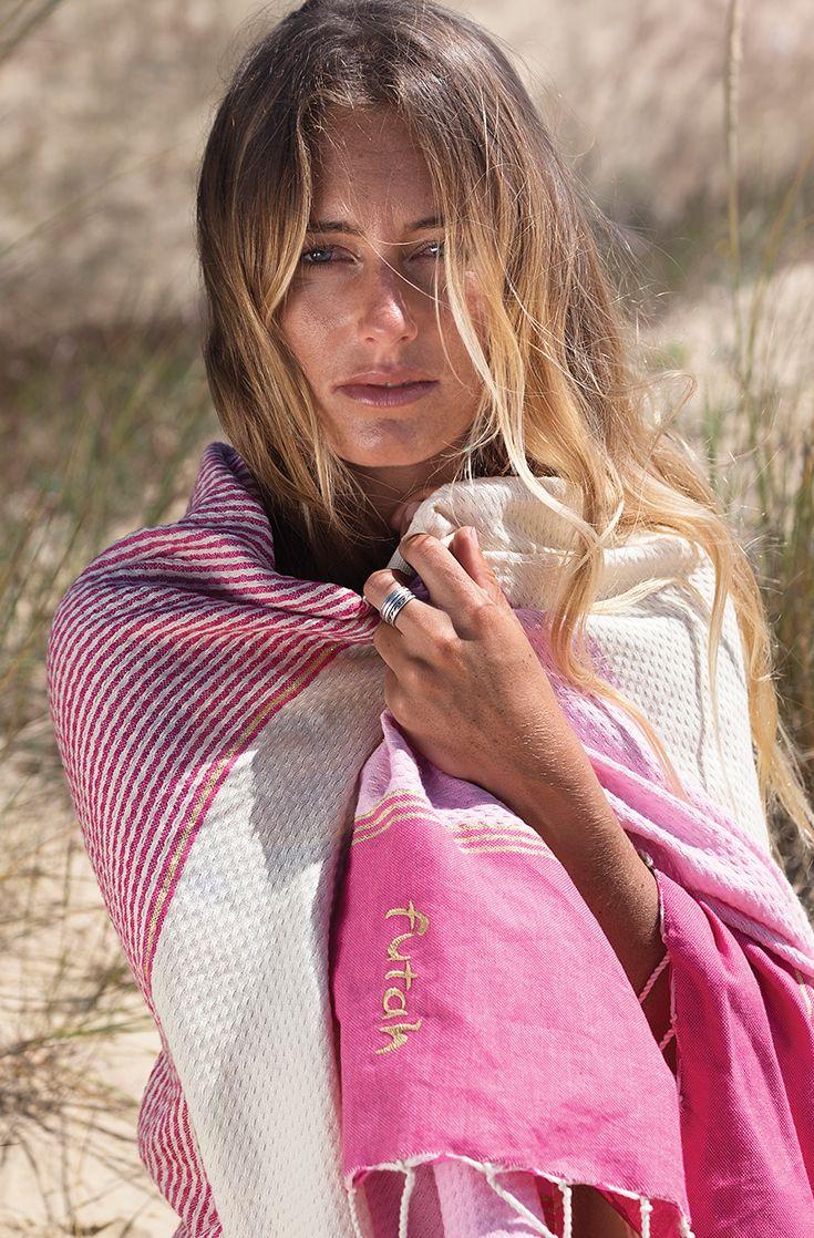 FUTAH BEACH TOWELS | MIRAMAR PINK | beach towel | summer essentials