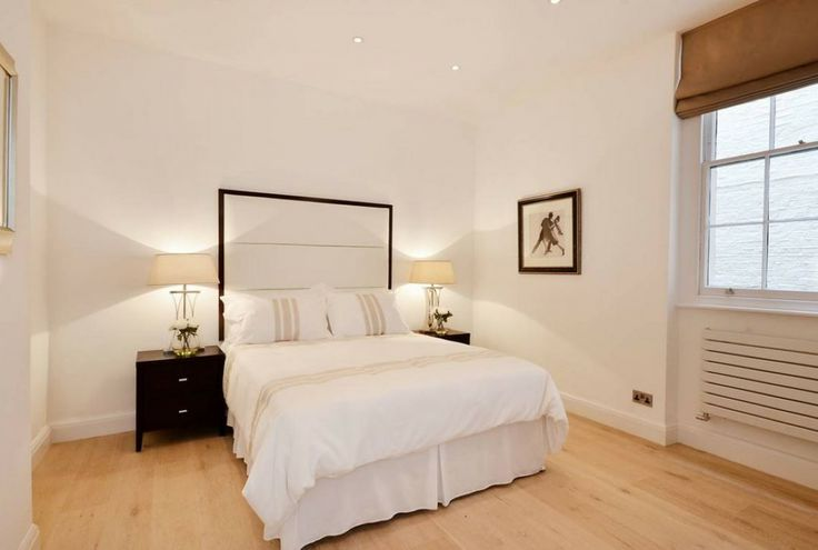 Bedroom basement flat London W2 #cutlerandbond #basementflat #gardenflat #londonproperty