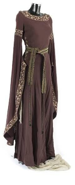 Great Medieval Dress.... Does it come in purple? Oh... That was a royal colour... Reserved for only Royalty..... Yeah... Makes sense.  :-D