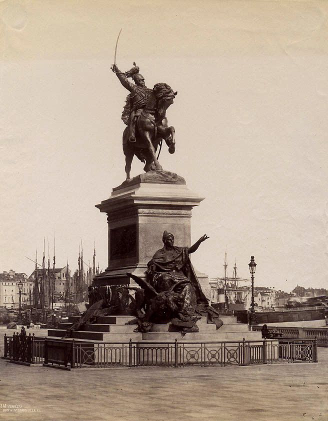 Monument to King Victor Emmanuel II, Venice by Carlo Naya