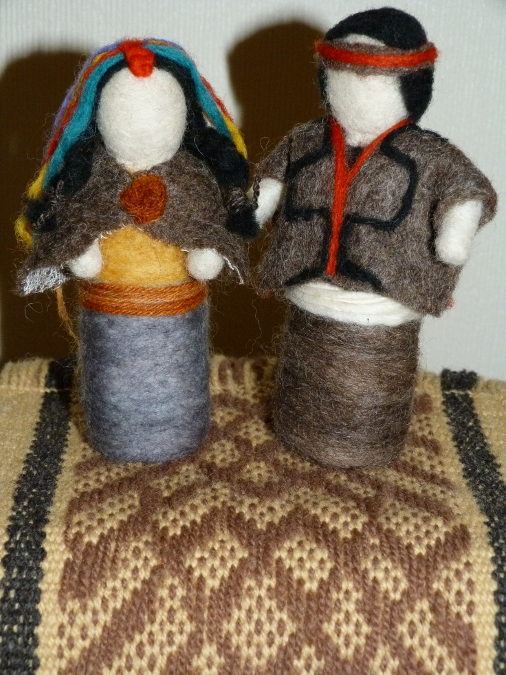 Mapuche marriage.