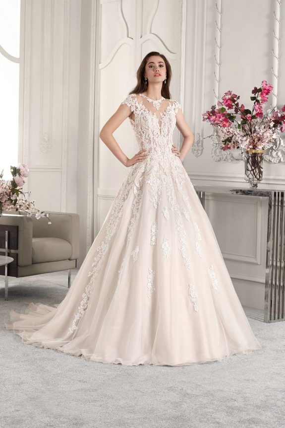 Demetrios Wedding Dress 822 This Lace Embellished Organza A