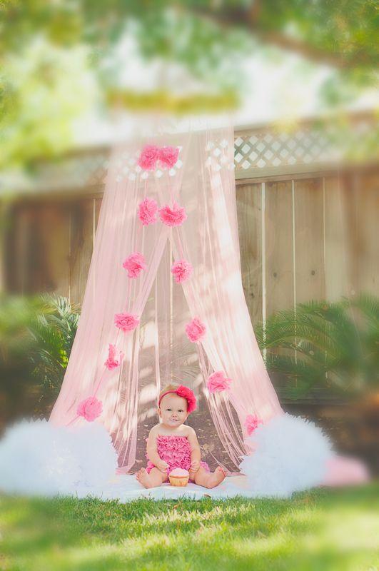 Avery's Cake Smash {One Year Baby Photos, Hanford, Visalia, CA Photographer} » Christina Baltazar Photography