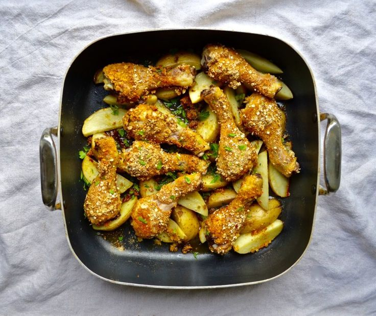 Spicy Chicken and Wedges