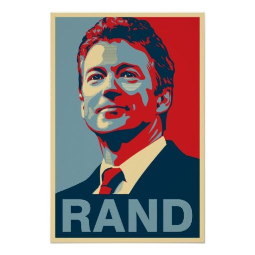 Rand Poster - Rand Paul 2016