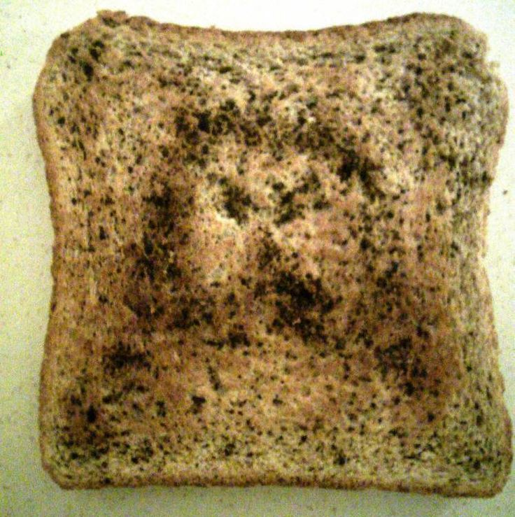 Second coming of Christ: Slice of toast bears face of Jesus