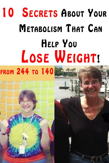 Fit and Well: 10 Secrets About Your Metabolism That Can Help You Lose Weight!