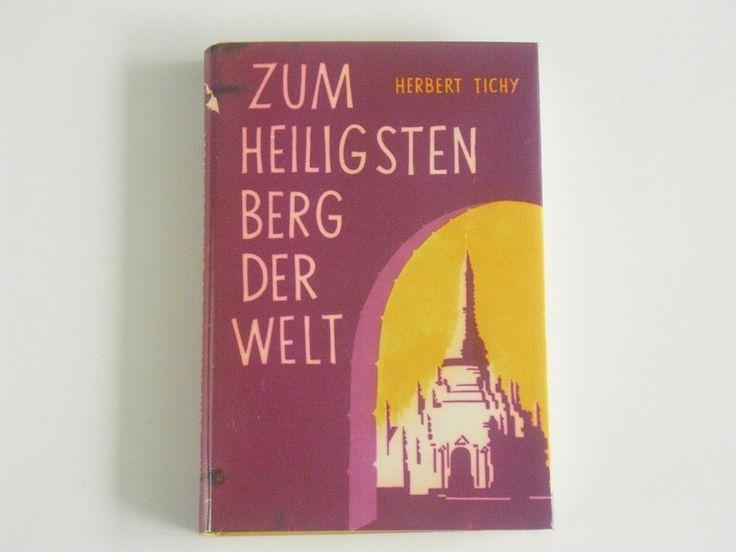 Vintage Landkarten & Reiseliteratur - Zum Heiligsten Berg der Welt - Herbert Tichy - ein Designerstück von allesfuermich bei DaWanda