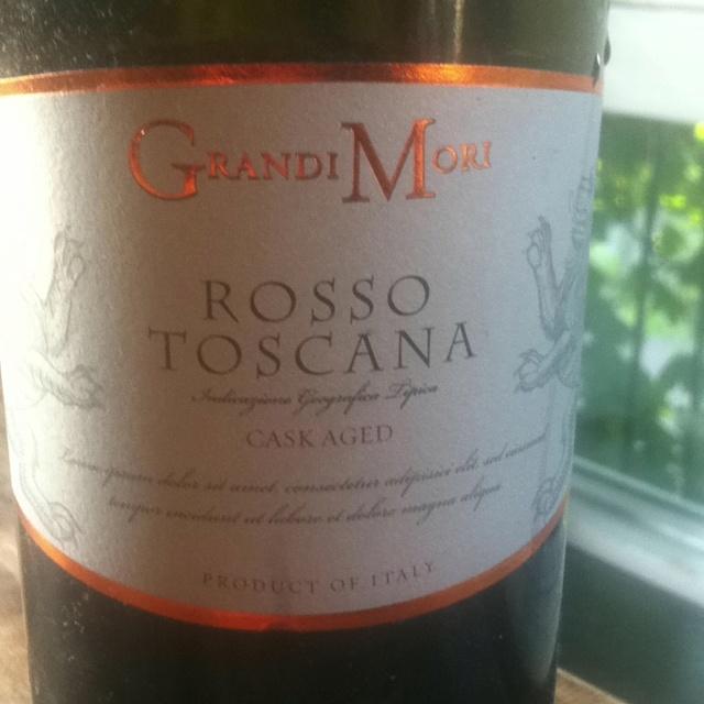 Rosso Toscana - grandi mori - 2009 - ****