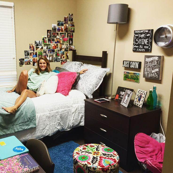 Dorm room Pres 2 University of Alabama