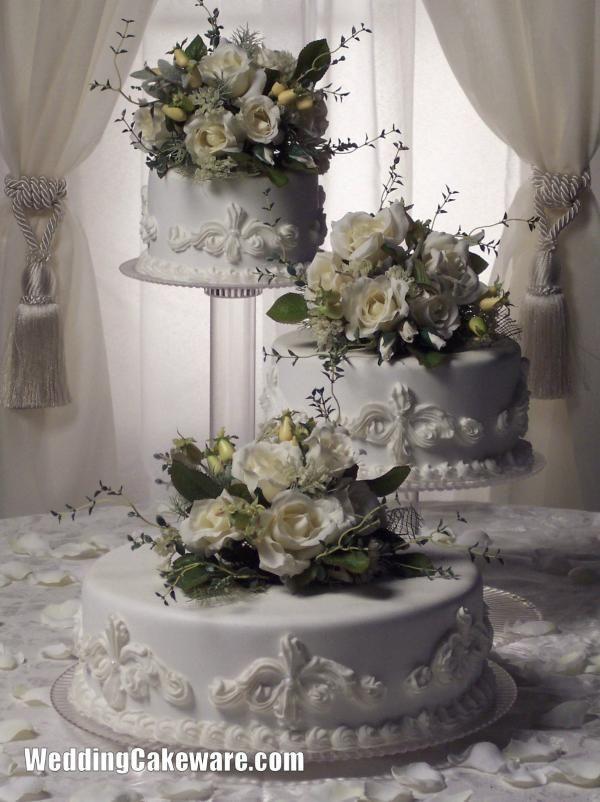 Cascading Wedding Cake Stands | TIER CASCADE WEDDING CAKE STAND STANDS