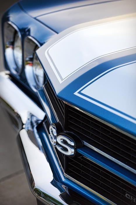 1970 #Chevrolet #Chevelle SS - by Gordon Dean #ClassicCar QuirkyRides.com