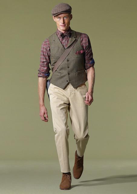 Waistcoat chest pocket