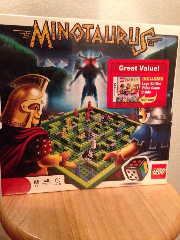 LEGO Minotaurus 211 pcs set,with free LEGO  Nintendo DS Game #LEGO