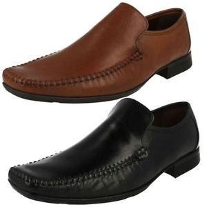 a hombre clarks zapatos de vestir sin cordones ferro step