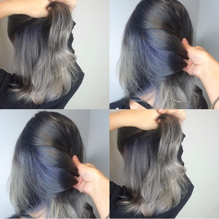 Wooow hidden denim under gorgeous silver hair  Her formula : Pravana Vivids Silver + Pravana Vivids silver mix vivids Blue   Supeer gorgeous! always fav gorgeous #underlights hair  you can make your own hair dream version with our Pravana Silver  thanks aloot my dear for rockin Pravana perfectly! HAVE FUN & stay peculiar! ☄️ #pravana #pravanaindonesia #pravanajakarta #pravanajkt #pravanaindo #pravanamurah #pravanaready #jualpravana #jualpravanamurah #hairdye #haircolor #hairgo...
