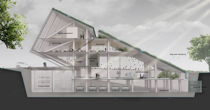 Gallery - New Wave Architecture Designs Sustainable Office Building for Turbosealtech in Iran - 8