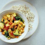 Korma de légumes d'hiver - une recette Légèreté et plaisir - Cuisine