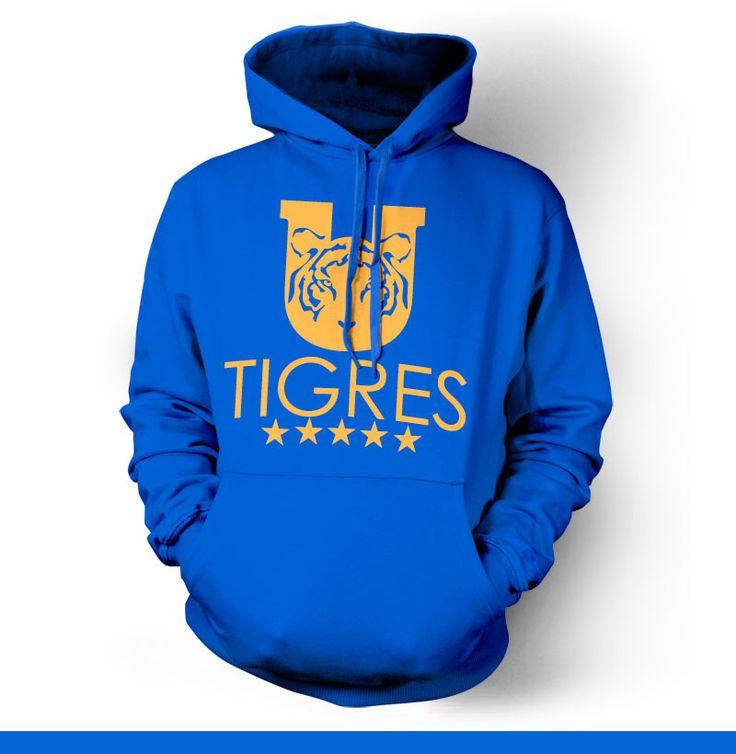 Tigres Monterrey UANL Mexico Hoody Sweatshirt Sudadera