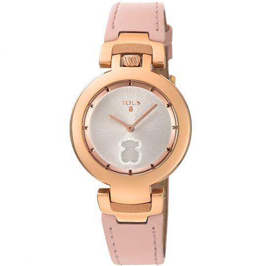 ba530078f8a3 Detalles de reloj tous mujer nuevo correa rosa palo tamaño 33 mm ...