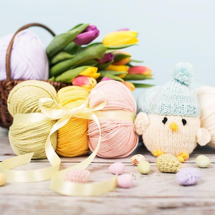 46 best knitting patterns for easter images on pinterest knit eggy chicks easter giftknitting negle Gallery