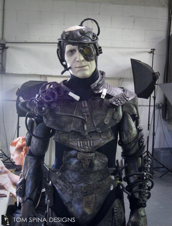 Star Trek Borg Costume Display Mannequin - Tom Spina Designs » Tom Spina Designs