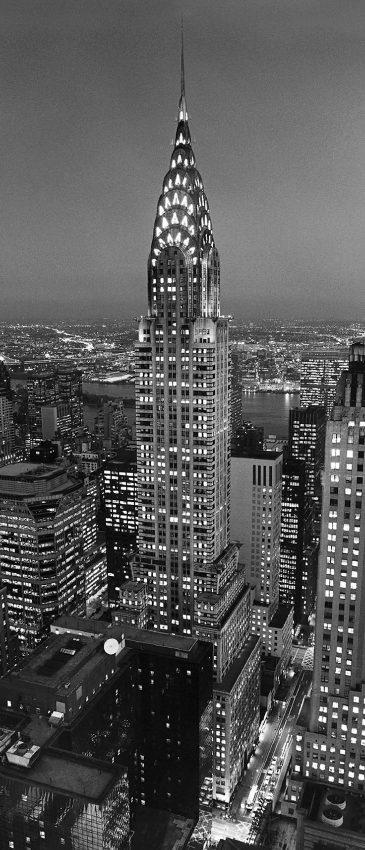 Best 25 chrysler building ideas on pinterest build nyc for Chrysler building mural