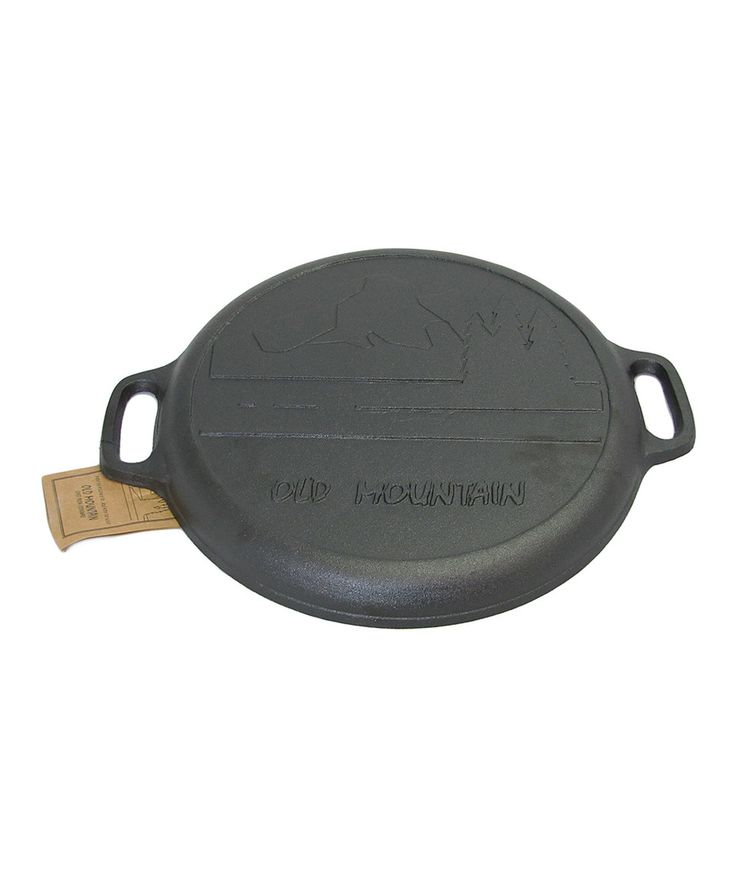 Loving this Old Mountain Cast Iron Pizza Pan on #zulily! #zulilyfinds #contest