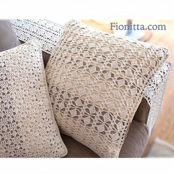 Crochet home decor~ Fionitta
