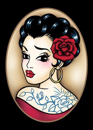 'Gypsy Tattoo'Gypsy Tattoos, Tattoo Ideas, Ink Art, Claudia Heks, Tattoo Obsession, Tattoo Design, Ink Inspiration, Gypsy Eye, Gypsy Flash