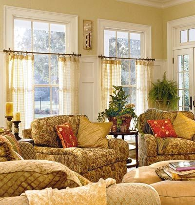 Best 25+ Half window curtains ideas on Pinterest | Kitchen window ...