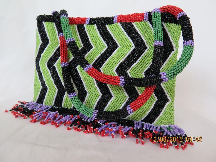 бисерная сумочка Рисовые поля