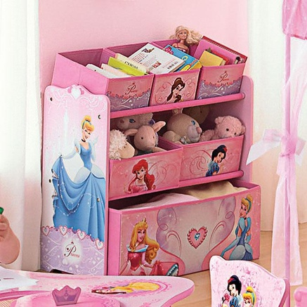 Disney Princess® Multi Bin Toy Storage Organizer