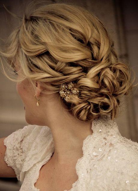 Coiffure+mariée+chignon+romantique