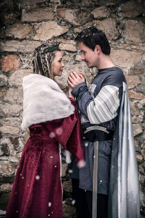 Queen Brunhild & king Siegfried