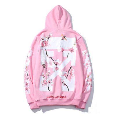 4c4c42b6ddc4 Off White Supreme Hoodie Virgil Abloh Pyrex Vision Street Wear Jumper  Sweatshirt