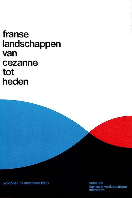 exhibition poster by Benno Wissing (1963)