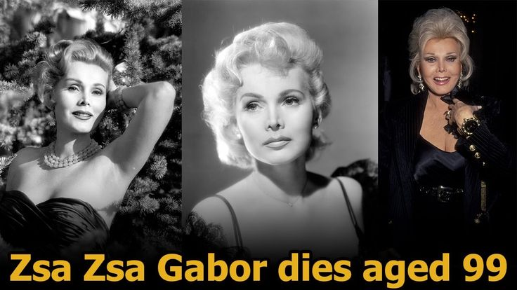 Zsa zsa gabor dead | zsa zsa gabor now | eva gabor | zsa zsa gabor died ...