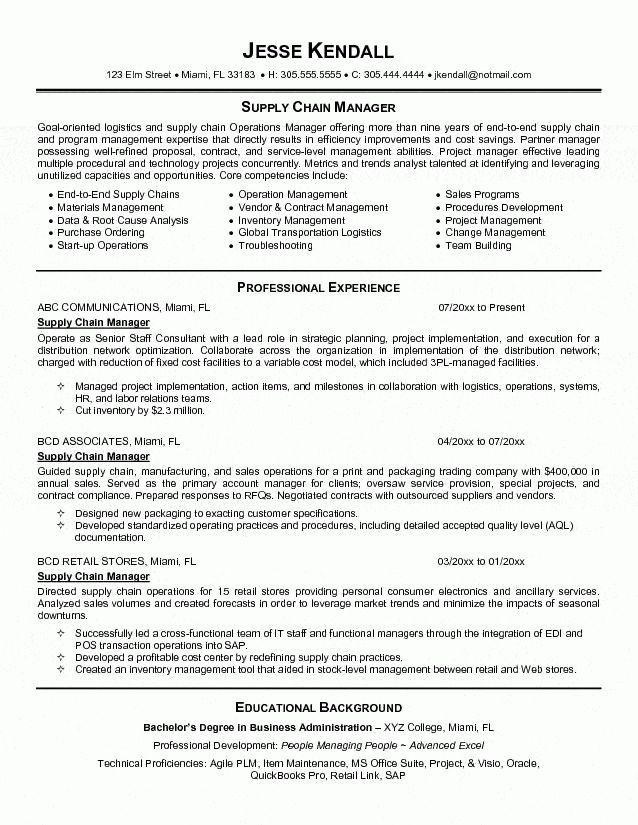 Logistics Manager Resume Template 28 Images Resume Sle Professional Resume Sle Warehouse Project Manager Resume Resume Examples Resume Objective Sample