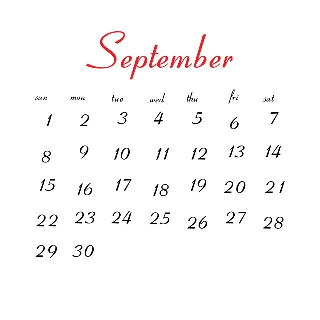 September 2019 Calendar Calendar Icons Calendar Clean Png And Vector With Transparent Background For Free Download Calendar Icon 2019 Calendar Calendar Png