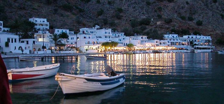 Loutro - holidays guide - Hotels in Loutro village - Sfakia Crete