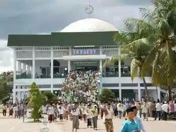 Mesjid Pondok Pesantren Gontor, Ponorogo, Jawa Timur
