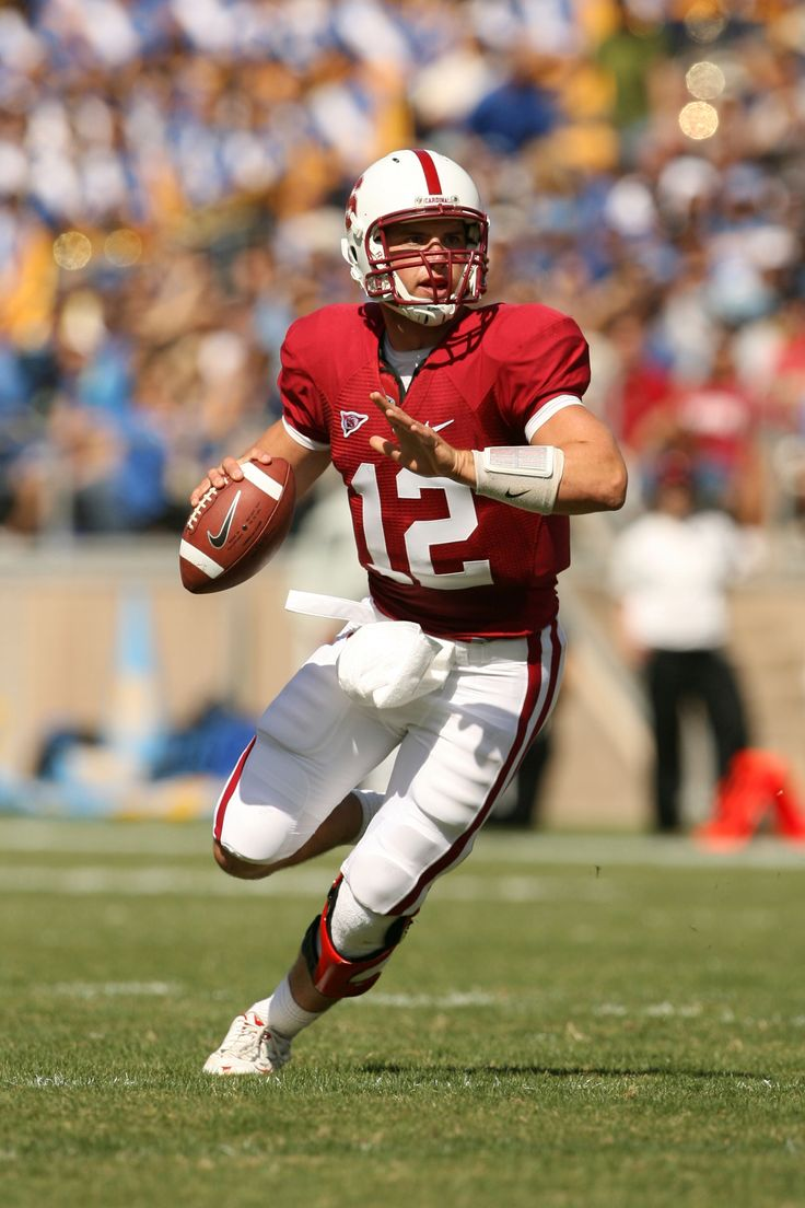 Andrew Luck # 12 Stanford Cardinal QB