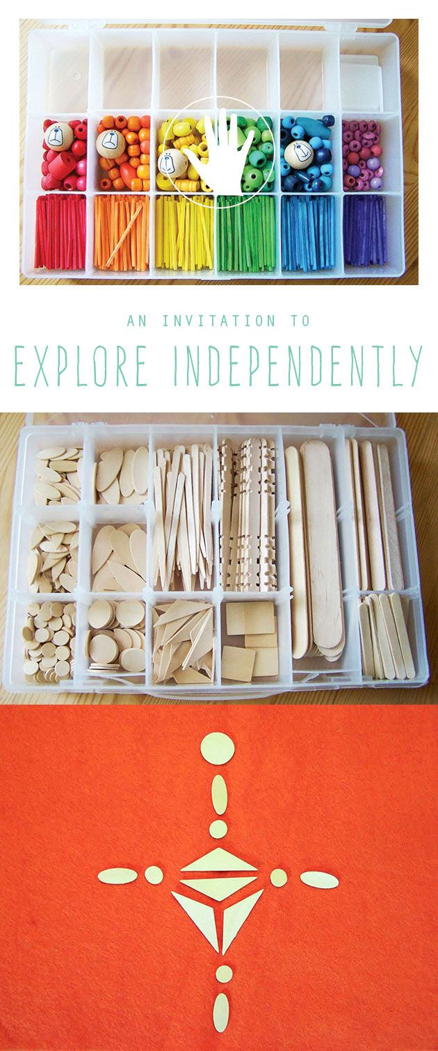 Great tips on encouraging independent explorations with your children....