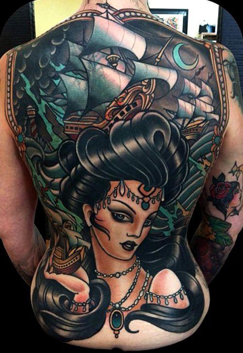 "modifiedfiction: "" bitofanink: "" TATTOO Blog thievinggenius: Tattoo done by W.T. Norbert. @wtnorbert "" """