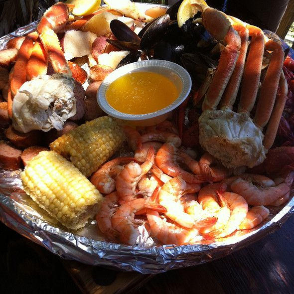Lowcountry Boil at The Crab Shack