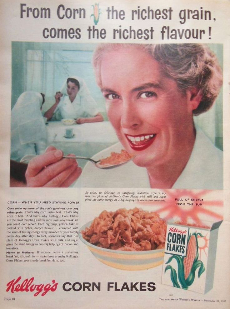 kelloggs vintage ad Kellogg executives meet to sample breakfast cereal as part of a weekly  watch  a vintage television ad of tony the tiger that aired in 1959.