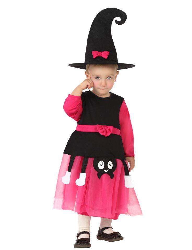 De leukste Halloween kostuums zijn te bestellen bij Vegaoo.nl! Bestel snel deze schattige heksen outfit voor baby's tegen de beste prijs!